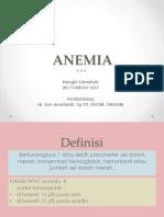 Anemia Referat Ppt