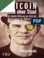BITCOIN - Geld Ohne Staat – Die Digitale Währung Aus Sicht Der Wiener Schule Der Volkswirtschaft (German Edition)_nodrm