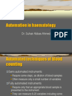 Automation in Haematology