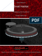 Traveller - Space Stations XVII, Small Pirate Base v1.1 (2015)