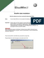 Dateninstallation ElsaWin DVD Englisch