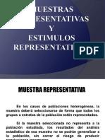 Presentación  MUESTRAS