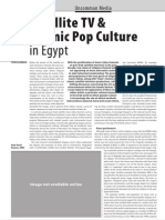 Satellite TV and Islamist Pop Culture in Egypt