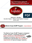 Marine Corps Enterprise Lifescycle Maintenance Planning Program