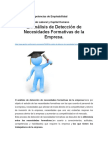 MODELOS DE DETECCCION DE NECESIDADES FORMATIVAS DE LAS EMPRESAS