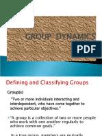 Group Dynamics1