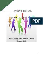Proyecto Escolar Gimnacia Ritmica Fcr