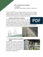 Diseño y Trazado de Ruta Accesible