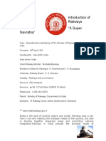 Final Project of Indian Railways