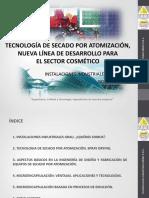 2016.09.29 Tecnologia de Secado Por Atomizacion - Inst Ind Grau - Jose Parrilla