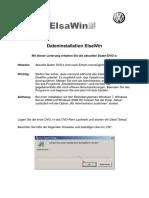 Dateninstallation ElsaWin DVD Deutsch