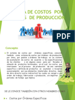 Sistema de Costos Por Órdenes de Producción