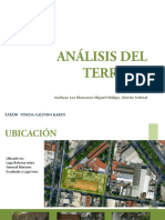 ejemplo de analisis de terreno