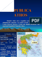 ATHOS muntele sfant