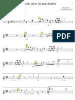 13O Grande Amor Do Meu Senhor (Flauta)