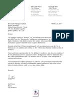 Mayor Jim Watson's Letter to Premier Couillard Regarding Bill 62