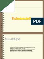 Ticketerstellung