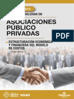 Estructuración Económica y Financiera del Modelo de Costos