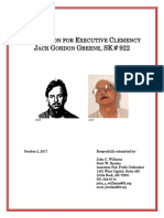 Greene Clemency Application With Attachments (Reduced File Size)