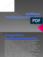 Aplikasi technopreneurship.ppt