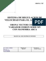 Manual Instr. Regulador Omron MV Con Maniob.arca