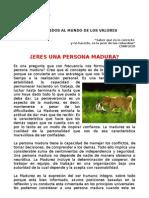 Mrc 22 Mensaje Mensual Electronico La Madurez Agosto Del 2010