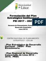 PEI 2017-2021 FODA Objetivos