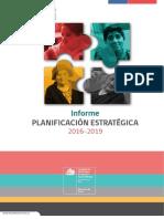 Informe Planificación Estratégica HSC 2016 2019