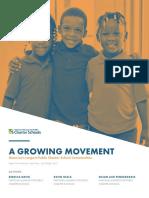 National Alliance of Public Charter Schools enrollment report
