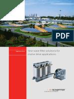 Schaffner an Filter Solutions for Motor Drives Applications