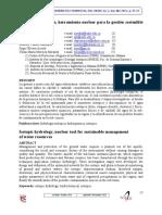 Hidrología Isotópica, Herramienta Nuclear Para La Gestión Sostenible Del Recurso Hídrico
