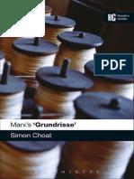 Simon Choat - Marx's Grundrisse.pdf