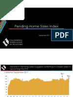 Pending Home Sales Index - 2017-09