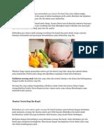 Manfaat Nutrisi Pada Ibu Hamil