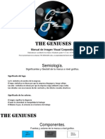 Manual de Imagen corporativa-the Geniuses
