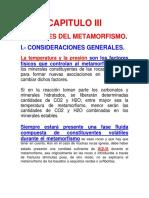 Capitulo III-factores Del Metamorfismo