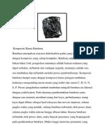 Komposisi Kimia Batubara (TEB)