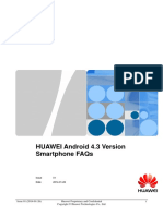 HUAWEI Android 4.3 Version Smartphone FAQs