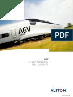 Brochure - Rolling stock - AGV very high speed train - Spanish .pdf