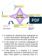 Flood Routing 1