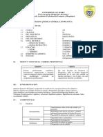 Silabo Quimica General e Inorganica 2016-II