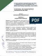 Reglamento Electoral Del Cqfp