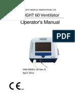 Operator Manual Flight 60