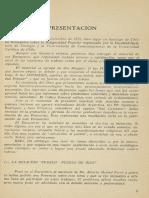 Presentación, Disculpas a Filipuzzi, Encuentro Religiosidad Popular, Chile 1973