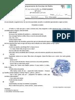 Ficha Av. Trimestral Português 2º Período