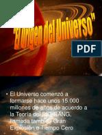 .El Origen Del Universo Septiembre