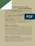 Contrato de Arrendamiento- Colquechagua