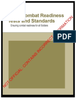 Internal Manual On The Proposed Army Combat Readiness Test (OUTDATED)