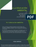 Tic Para La Educación Ambiental