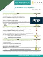 Informe Mercados Agrícolas 13